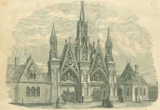 Entrance to Greenwood Cemetery, Brooklyn, N.Y. (Image1)