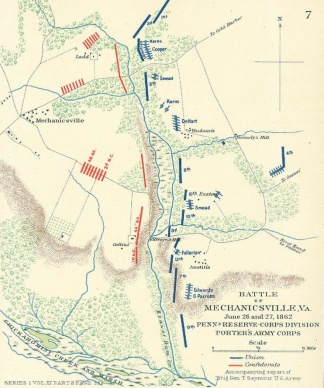 Battle of Mechanicsville, Virginia (Image1)