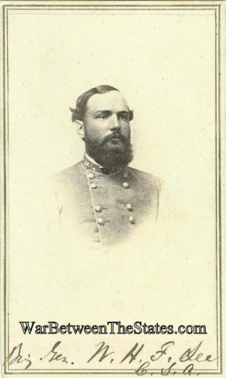 Cdv, General William Henry Fitzhugh Lee