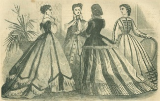 Paris Fashions For December 1865