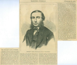 Edward W. Green, The Malden Bank Murderer