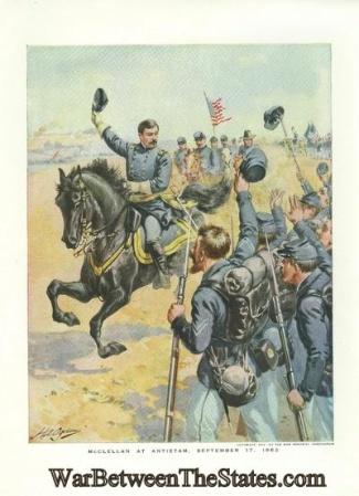 General George B. McClellan at Antietam (Image1)