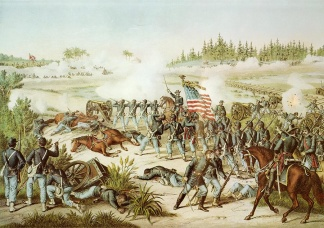 The Battle of Olustee, Florida (Image1)
