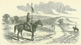 Rush's Lancers Guarding The Roads