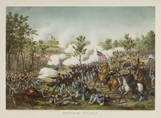 The Battle of Atlanta, Georgia (Image1)