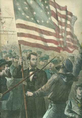 Abe Lincoln Rally Round the Flag Boys! (Image1)