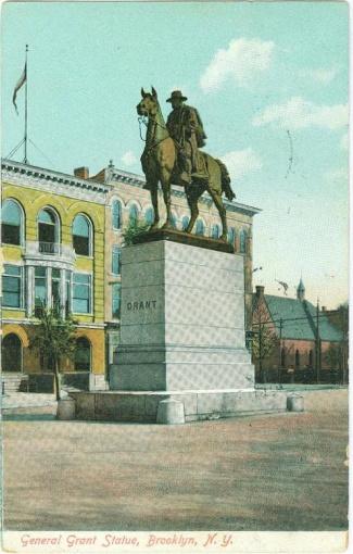 General U.S. Grant Statue, Brooklyn, New York (Image1)