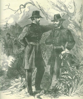 Consultation of General U.S. Grant and General George G. Meade (Image1)