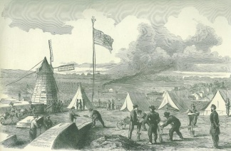 Camp Girardeau, an Important Strategic Position on the Mississippi (Image1)