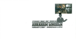 President Abraham Lincoln First Day Cover & Stamp (Image1)