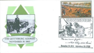 Gettysburg First Day Cover (Image1)