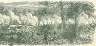 Confederate Attack on General John A. Logan's Corps (Image1)
