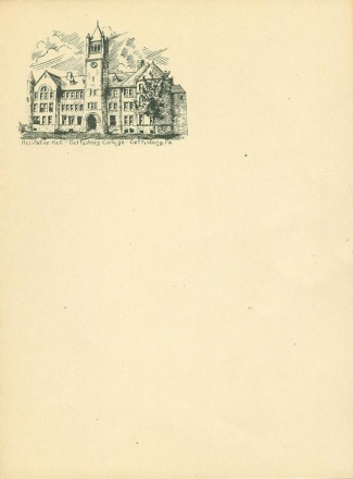 Recitation Hall, Gettysburg College, Gettysburg, Pa. (Image1)