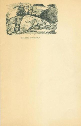 Devil's Den, Gettysburg Battlefield (Image1)