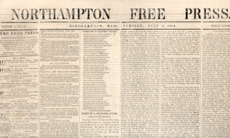 Northampton Free Press, July 5, 1864 (Image1)