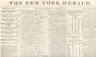 The New York Herald, November 8, 1865