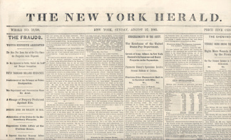The New York Herald, August 27, 1865
