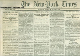 The New York Times, August 13, 1863