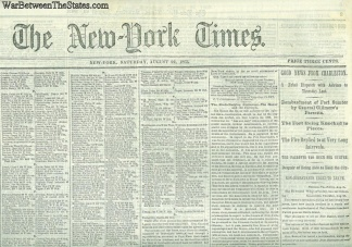 The New York Times, August 22, 1863