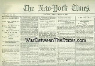 The New York Times, August 28, 1863