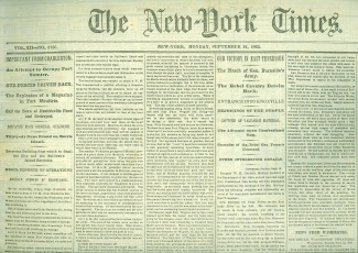 The New York Times, September 14, 1863