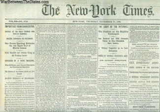The New York Times, September 17, 1863 (Image1)