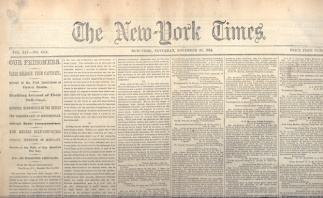 The New York Times, November 26, 1864