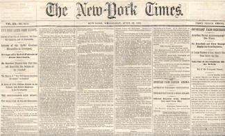 The New York Times, April 22, 1863