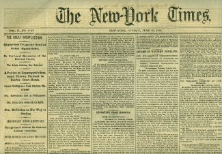 The New York Times, June 23, 1861