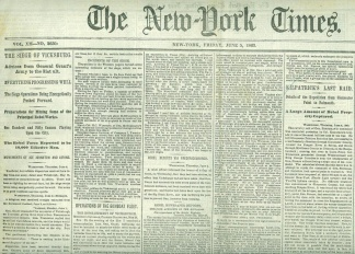 The New York Times, June 5, 1863