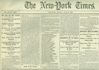 The New York Times, June 22, 1863