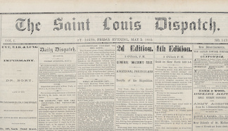 The Saint Louis Dispatch, May 5, 1865