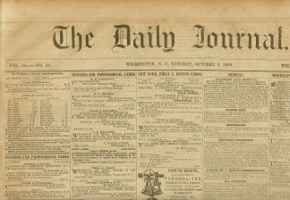 The Daily Journal, Wilmington, N.C., October 9, 1860 (Image1)
