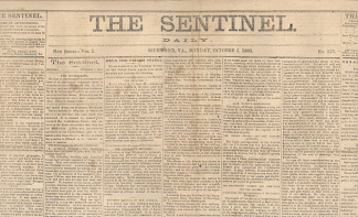 The Sentinel, Richmond, Va., October 5, 1863 (Image1)