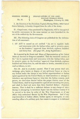 Orders Regulating Trade With The Indians (Image1)