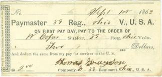 89th Ohio Infantry Sutler Script (Image1)