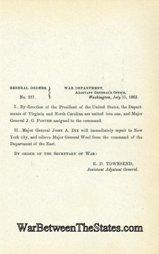 General Foster Named Commander Department (Image1)