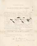 Click to view larger image of Autograph General Silas Casey & General Francis Fessenden (Image1)