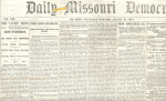 Click to view larger image of Daily Missouri Democrat, St. Louis, August 25, 1864 (Image1)