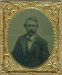 Click here to enlarge image and see more about item HI-307: Tintype, Gentleman Sporting Thick Mustache