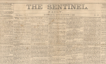 Click here to enlarge image and see more about item TS-46: The Sentinel, Richmond, Va., October 5, 1863