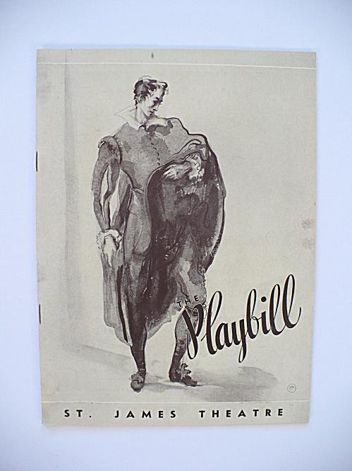 1936 LILLIAN GISH JOHN GIELGUD JUDITH ANDERSON BROADWAY PLAYBILL PROGRAM (Image1)