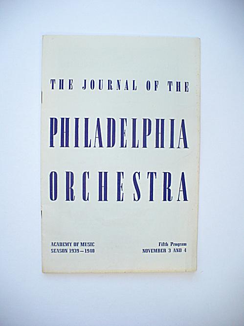 1939 DEVI DJA BALI DANCE PHILADELPHIA ORCHESTRA CONCERT MUSIC PROGRAM (Image1)