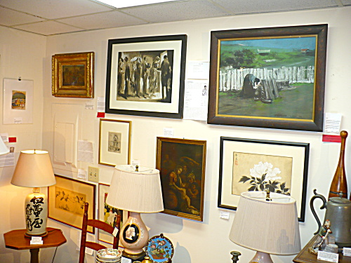 WINDHAM ANTIQUES PAINTINGS ART APPRAISAL VALUATION SERVICES (Image1)
