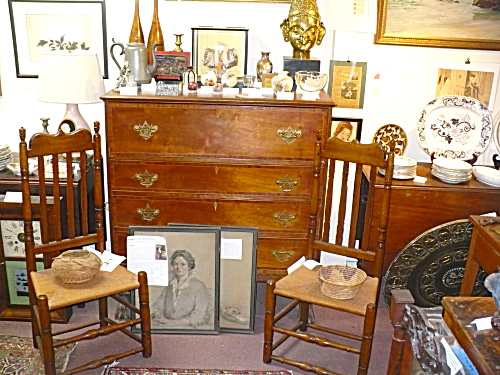WINDHAM ANTIQUES CHESTS CHAIRS APPRAISAL VALUATION SERVICES (Image1)