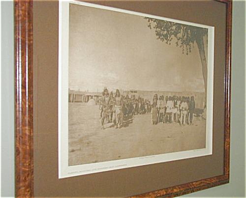 CURTIS AMERICAN INDIAN PHOTOGRAVURE, TABLITA (Image1)