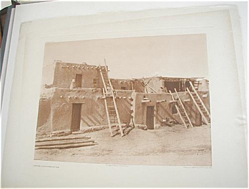 E. CURTIS AMERICAN INDIAN PHOTOGRAVURE, JEMEZ (Image1)