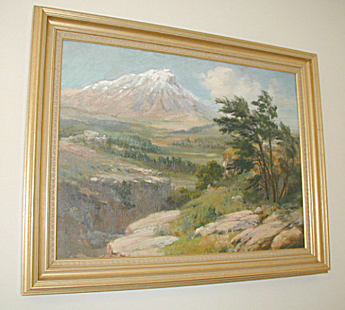 Mountain Scene Painting By Charles Corwin