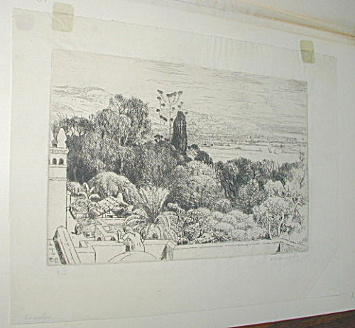 VIEW OF ALGIERS ETCHING (Image1)