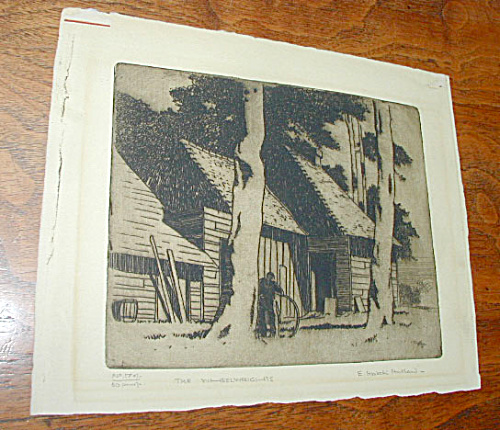 WHEELWRIGHTS ETCHING BY ERIC HUBBARD (Image1)